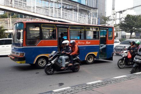 Sudah Dilarang, Kopaja dan Metromini Tetap Melintasi Sudirman-Thamrin