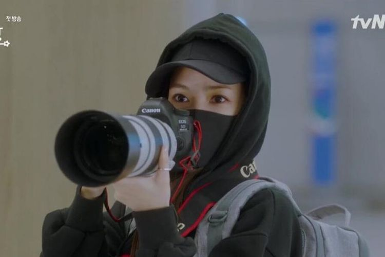 Her Private Life (2019) yang menghadirkan Park Min Young dan Kim Jae Wook tayang di VIU.