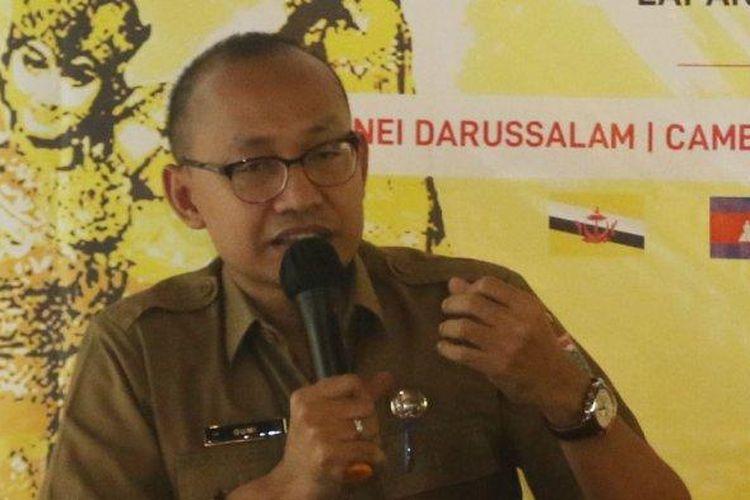 Pelaksana tugas (Plt) Kepala Dinas Pariwisata dan Ekonomi Kreatif DKI Jakarta Gumilar Ekalaya.