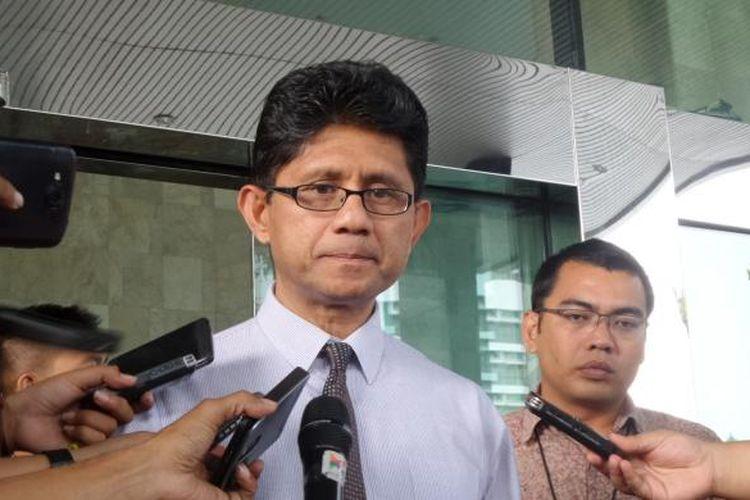 Wakil Ketua KPK Laode Muhammad Syarif di Gedung KPL, Jakarta, Kamis (11/8/2016).