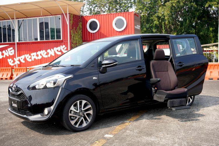 Ilustrasi Toyota Sienta model terbaru.