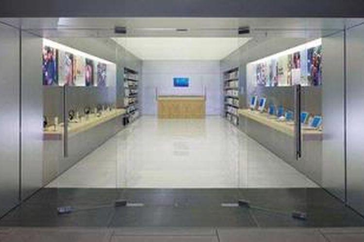 Prototipe toko Apple yang transparan dengan desain dinamis dan fututistik telah memperkaya khazanah arsitektur di kota-kota toko ini berada.