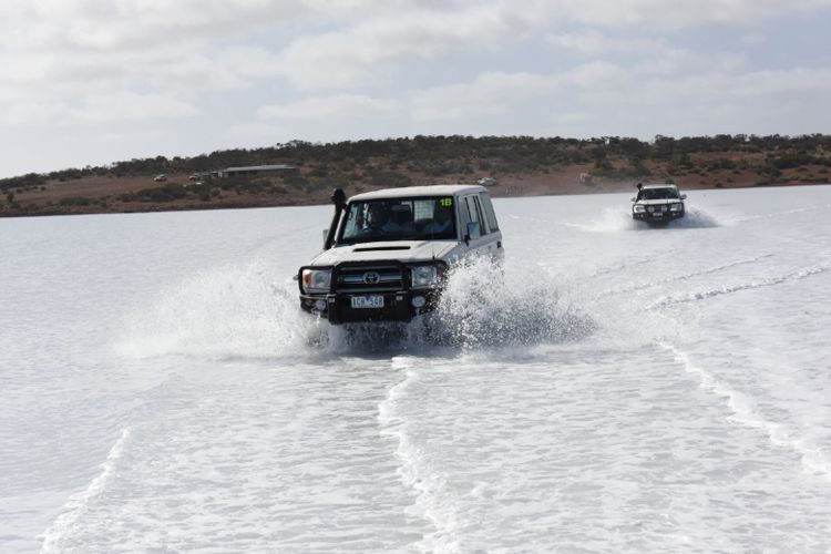 Penjelajahan Toyota di benua Australia (Dok. Toyota)