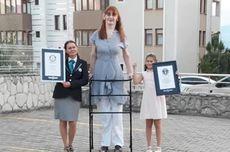 Punya Tinggi Badan 2,15 Meter, Ini Wanita Tertinggi di Dunia