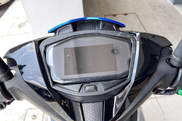 Yamaha MX-King versi Malaysia alias Y15ZR dikonversi menjadi motor listrik