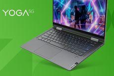 Lenovo Perkenalkan Laptop Anyar dengan Koneksi 5G