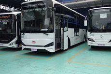 Suasana Kabin Bakal Bus Listrik Transjakarta Buatan Skywell Asal China