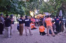 Rekonstruksi Pembunuhan Polisi Dilakukan Subuh, Jalan Pantai Kuta Ditutup