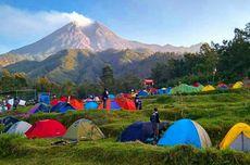 Awan Panas Gunung Merapi ke Arah Tenggara, Wisata Klangon Tutup Aktivitas Camping