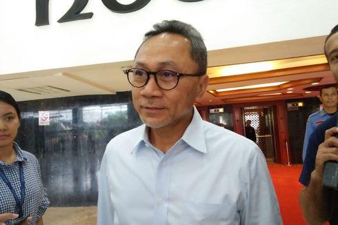 Mantan Menhut Zulkifli Hasan Mangkir dari Panggilan KPK