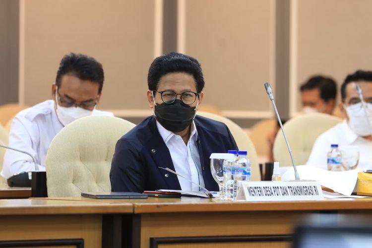 Menteri Desa, Pembangunan Daerah Tertinggal dan Transmigrasi (Menteri Desa PDTT) Abdul Halim Iskandar.