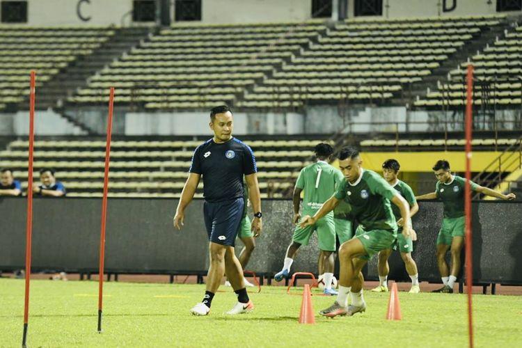 Pelatih fisik Sabah FA asal Indonesia, Sofie Imam Faizal.