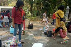 Nur Dapat Omzet Rp 4 Juta Selama Jualan di Tengah Aksi Demo Mahasiswa