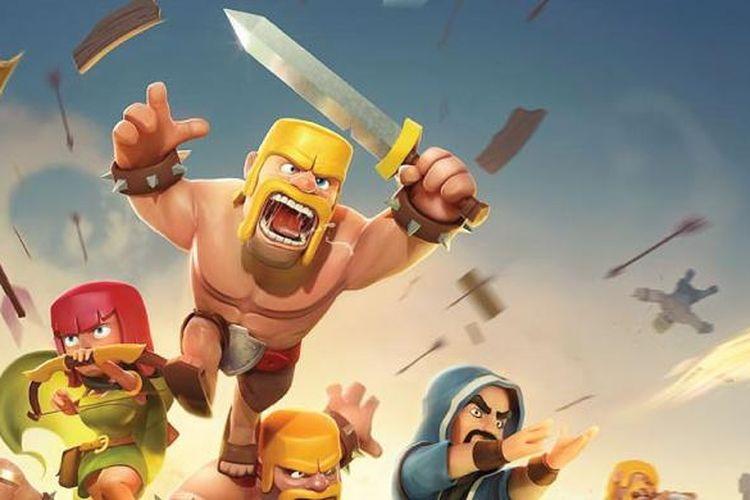 ilustrasi game Clash of Clans