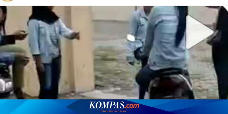 Video Viral Lima Perempuan ABG Rebutan Cowok di Ponorogo