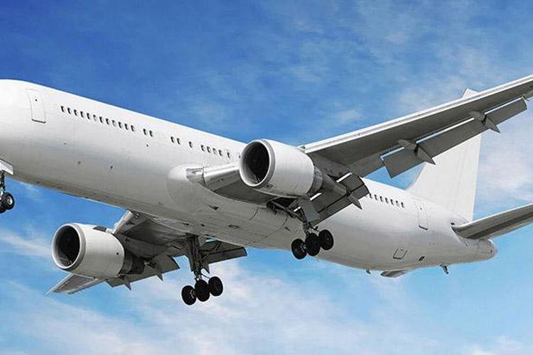 Ilustrasi pesawat, penerbangan