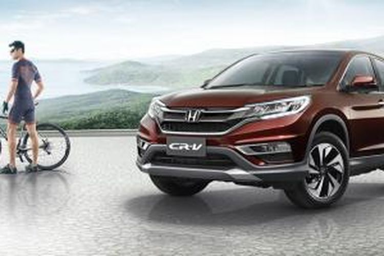Honda CR-V facelift untuk pasar ASEAN.