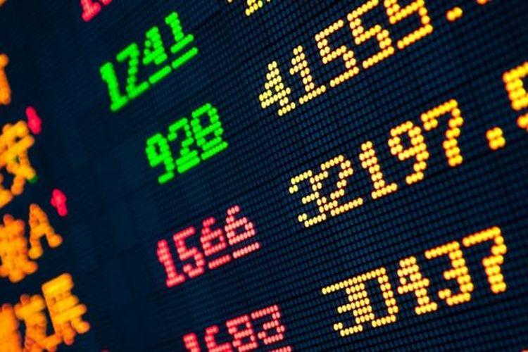 Ilustrasi pasar finansial China