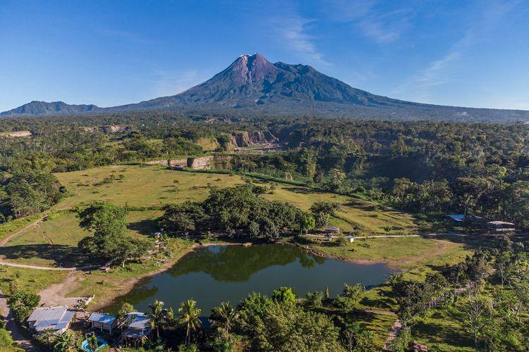 Bendungan Kendalsari atau Karangkendal di Kemalang, Klaten, Jawa Tengah.