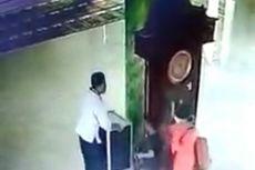 Viral, Rekaman Kamera CCTV Pencurian Kotak Amal Diduga Dilakukan Satu Keluarga