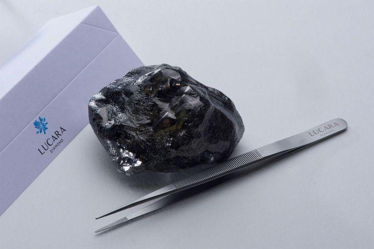Berlian Sewelo 1.758 karat yang ditemukan di Botswana, milik Lucara Diamond Corp.
