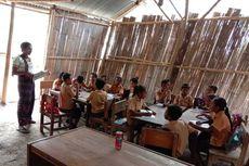 Kurang Ruang Kelas, Siswa Sekolah Negeri di Pedalaman Flores Belajar di Bangunan Darurat dan Rumah Warga