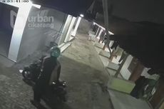 Viral Video Rekaman Aksi Pencuri Pakaian Dalam Wanita di Kontrakan Kawasan Cikarang