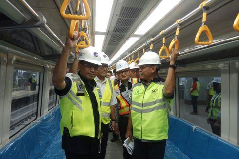 Uji Dinamis LRT Palembang Berhasil, Menhub Budi Karya Lega