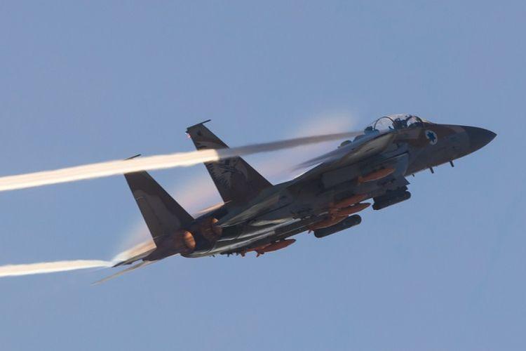 Jet tempur F-35 milik Angkatan Udara Israel, IAF.