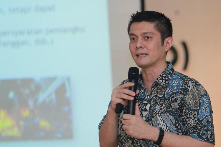Wikipediawan pencinta Bahasa Indonesia Ivan Lanin