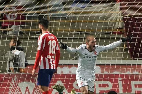 Hasil Leonesa Vs Atletico Madrid,  Atletico Gagal Lolos ke 16 Besar