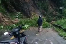 Jalan Trans Sulawesi Lumpuh Tertutup Longsor akibat Gempa Majene