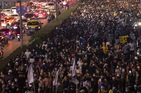 Demo Thailand Mulai Lagi, Massa Tiru Taktik Pedemo Myanmar
