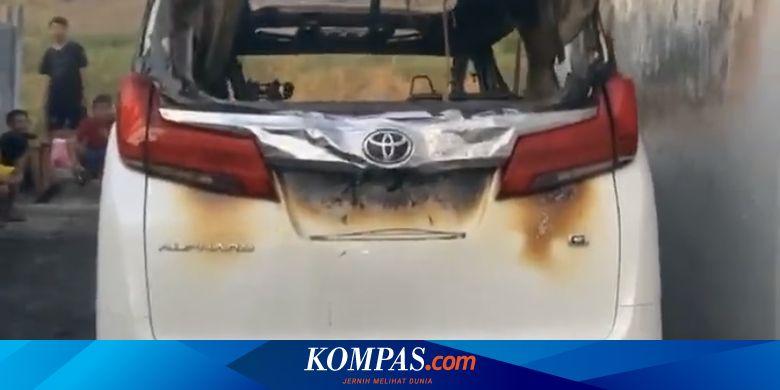 Kronologi Mobil Alphard Via Vallen Dibakar, Pelaku Gunakan Kardus dan Bensin