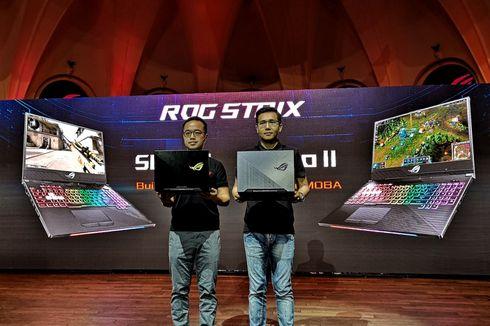 Asus Klaim Kuasai Pasar Laptop Gaming di Indonesia