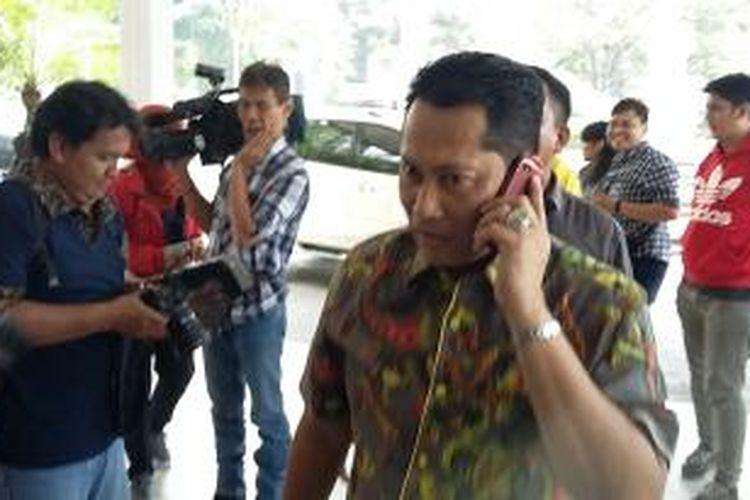Kepala Badan Reserse Kriminal (Barrskrim) Polri Komjen Budi Waseso, saat ditemui di Graha Purna Wira, Jakarta Selatan, Selasa (2/6/2015).