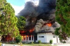 Kantor Koperasi dan UKM Pemkab Raja Ampat Terbakar, Pegawai Berhamburan