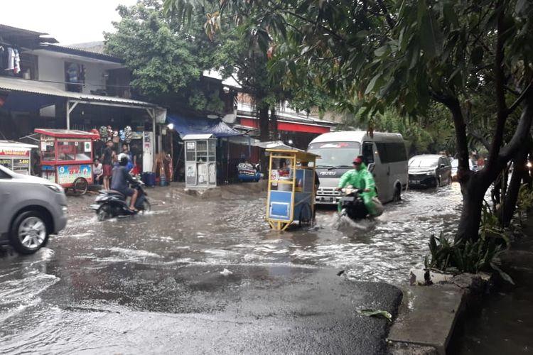 Kebon Jeruk Jakarta Banjir