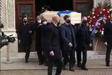 Jersey Timnas Italia di Peti Mati Paolo Rossi, Ribuan Pelayat Hadiri Pemakaman