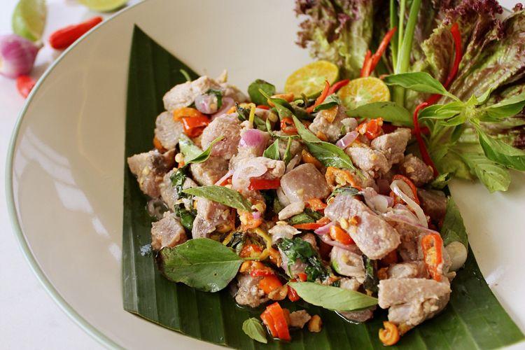 Gohu Ikan khas Ternate