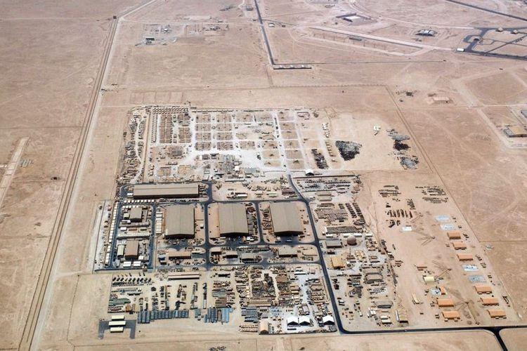 Pangkalan udara AS, Al Udeid di Qatar.