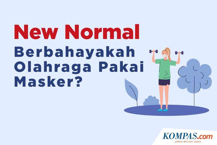 New Normal, Berbahayakah Olahraga Pakai Masker?