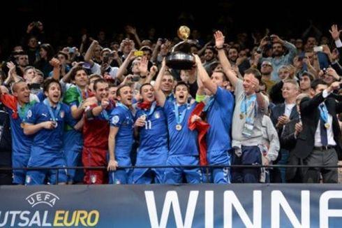 Italia Juarai Piala Futsal Eropa 2014