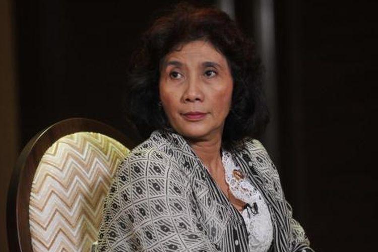 Menteri Kelautan dan Perikanan - Susi Pudjiastuti