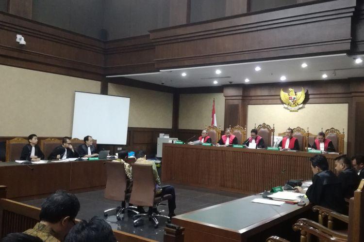 Sidang lanjutan pemeriksaan saksi untuk terdakwa Eni Maulani Saragih di Pengadilan Tipikor Jakarta, Rabu (2/1/2019)