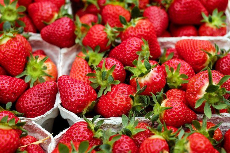 Ilustrasi strawberry.
