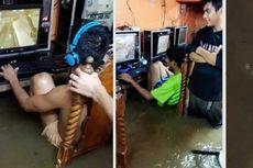 Meski Warnet Kebanjiran, Gamers Garis Keras Ini Terus Bermain