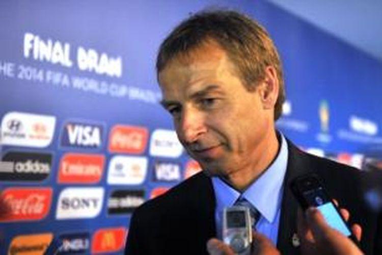 Pelatih tim nasional Amerika Serikat, Juergen Klinsmann.