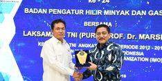 Mantan Kepala Staf TNI AL Beri Wejangan kepada BPH Migas