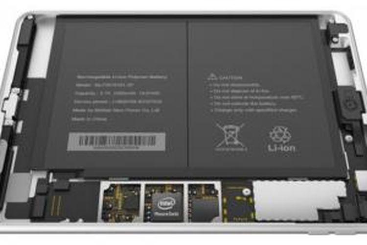 Komponen internal Nokia N1